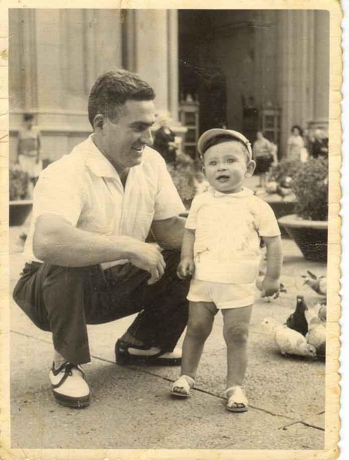 Niño, amigo y papa Mi-padre